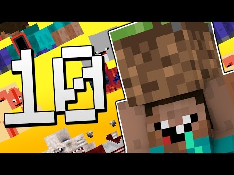 10 Funniest Skins in Minecraft