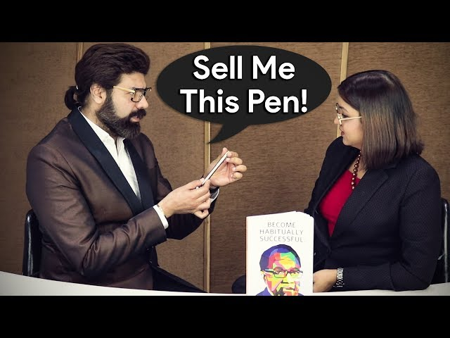 How To Sell Anything To Anyone - SELL ME THIS PEN -  Sales Training, Tips & Techniques