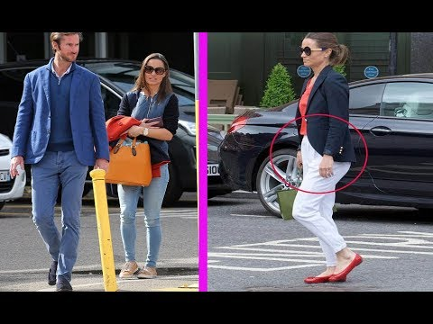 Is this the first sign of pregnant Pippa Middleton's baby bump?