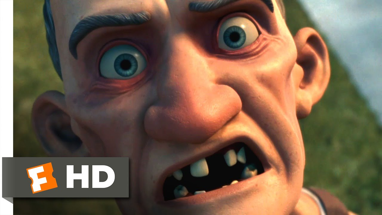 Monster house 1 10 movie clip stay away from my house for Classic house 2006