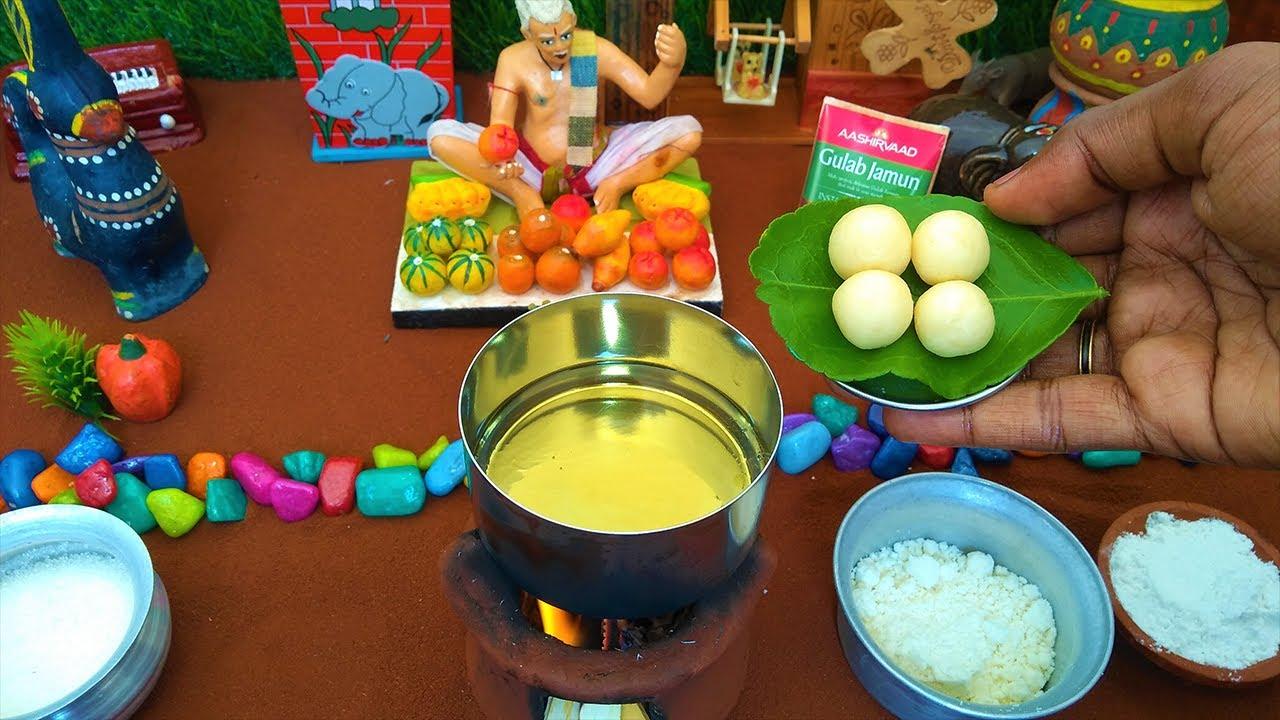 Miniature Rasgulla   Gulab Jamun   Miniature cooking   Raksha Bandhan Special Dessert   Mini Food