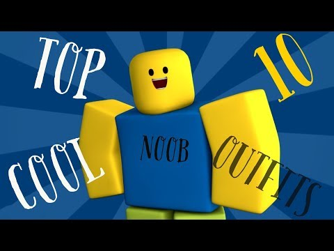Top 10 Awesome Noob Outfit In Roblox Youtube