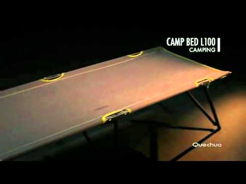 L100 Camp Bed Youtube