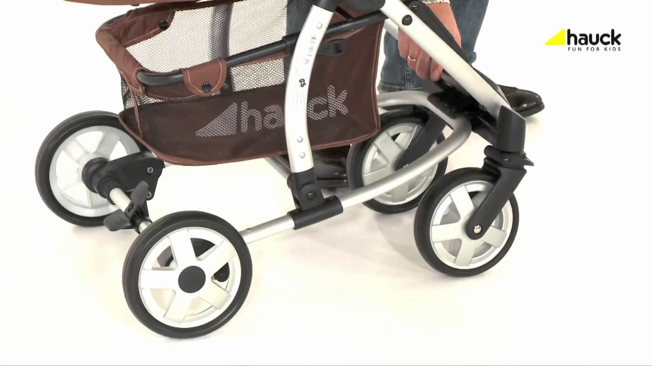 Hauck Shopper Slx Travel System Youtube Hauck Malibu All In One Travel System Video Review Online4baby Youtube