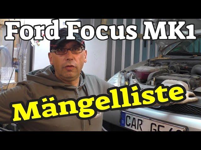 Ford Focus MK1 - Technikcheck + Mängelliste + TÜV