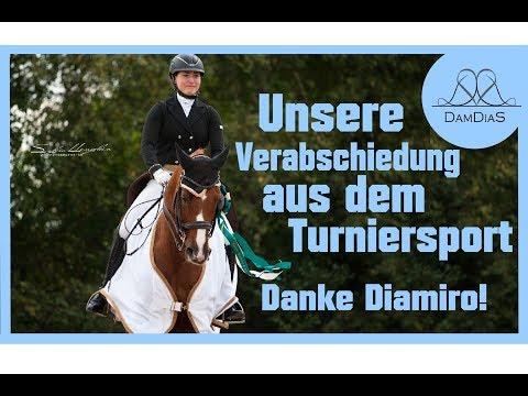 Es ist Zeit zu geh´n... Bye Bye Turniersport - Danke Diamiro 💙😭