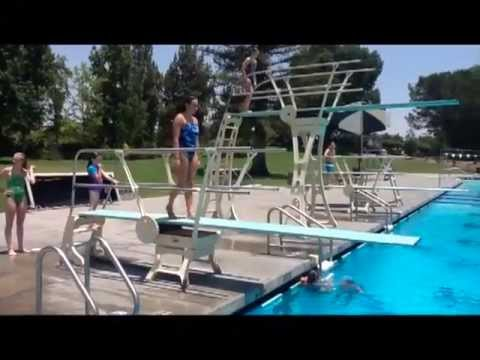 Jenny Stein Diving Highlights