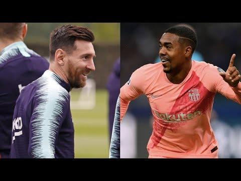 Barcelona News Round-Up ft Lionel Messi & Malcom