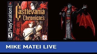 Castlevania Chronicles (Arrange Mode) - Mike Matei Live