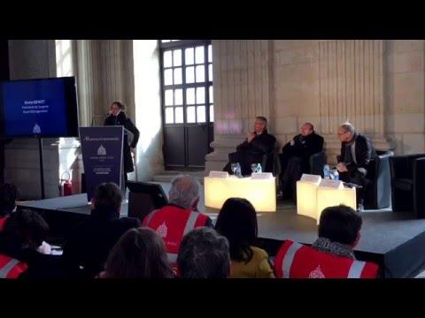 La conférence de presse lançant la commercialisation du Grand Hôtel-Dieu de Lyon