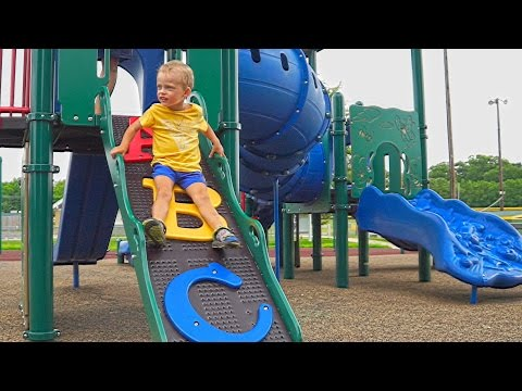 Thumbnail: Maxim playing at kids playground & having fun video for children adults toys superhero entertainment