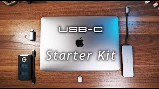 (Starter Kit) USB-C Accessories for new MacBook Pros!