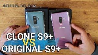 Diferencias entre el Galaxy S9+ Clon de 90 euros y el S9+ Original |SIEPONLINE|