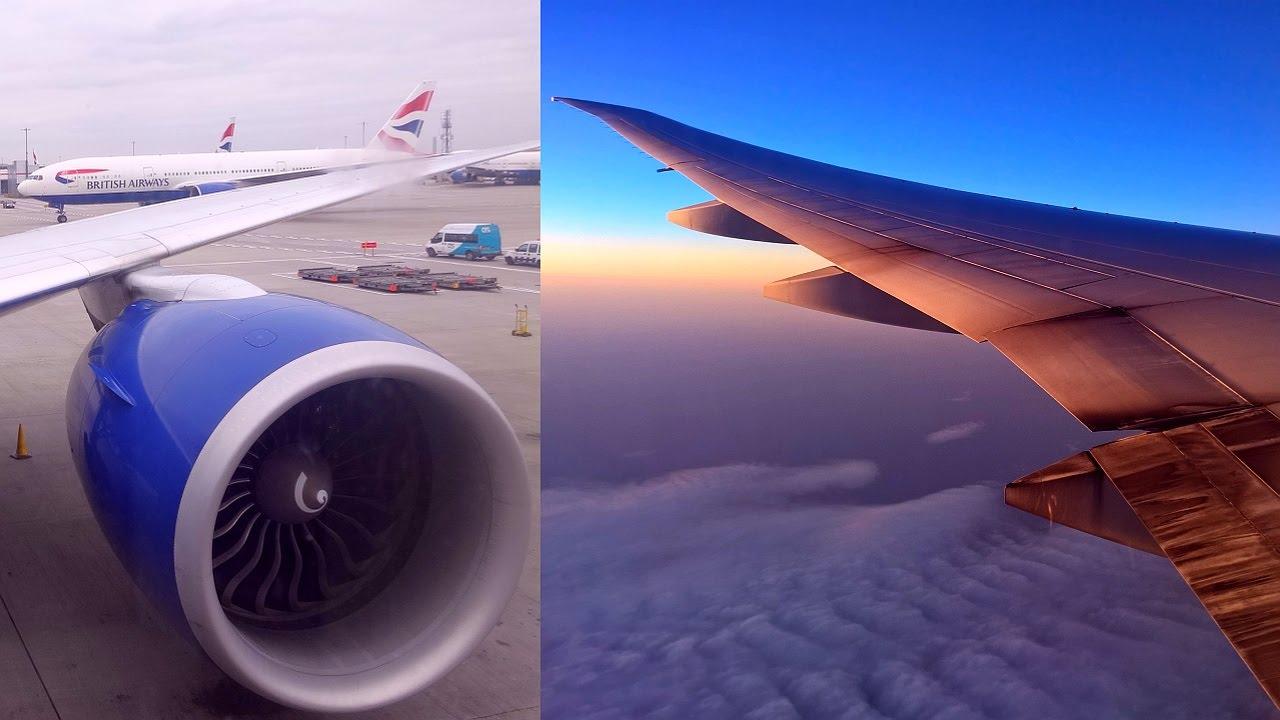 London - Shanghai British Airways Boeing 777-300ER (G-STBB)