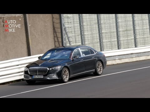 2021 MERCEDES-MAYBACH S CLASS PUSHING HARD AT THE NÜRBURGRING