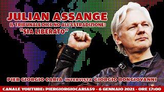 JULIAN #ASSANGE: il tribunale dice NO all'estradizione - #Intervista a Giorgio #Bongiovanni