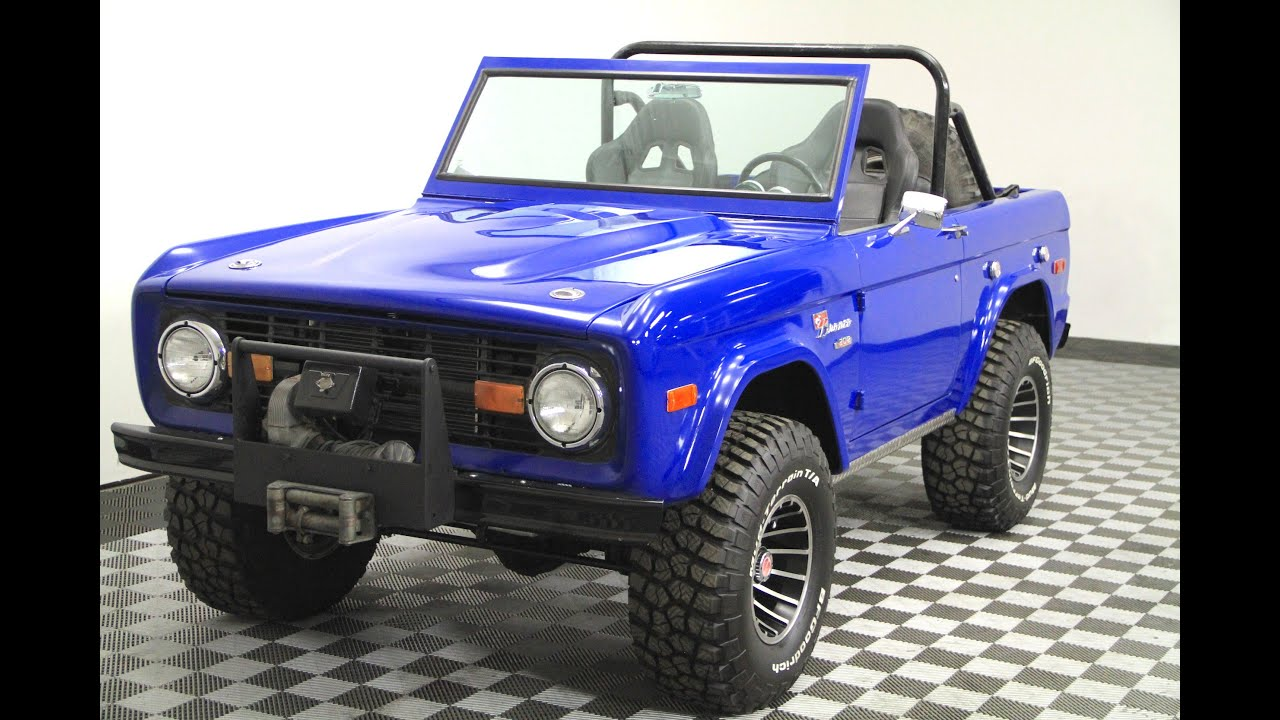 1972 Ford Bronco For Sale  YouTube