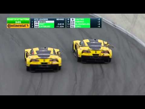 2016 Rolex 24 Hour Finish | GTLM Corvette Vs. Corvette Battle