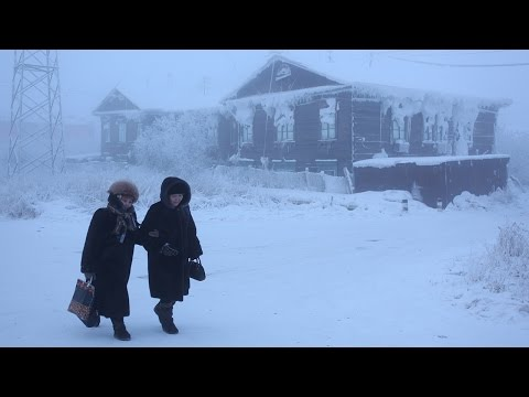 Coldest Places People Live