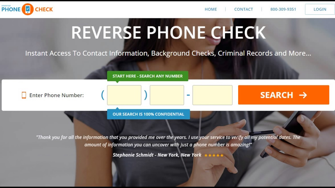 Reverse Phone Lookup / Run Reverse Number Lookup - Reverse Phone Check