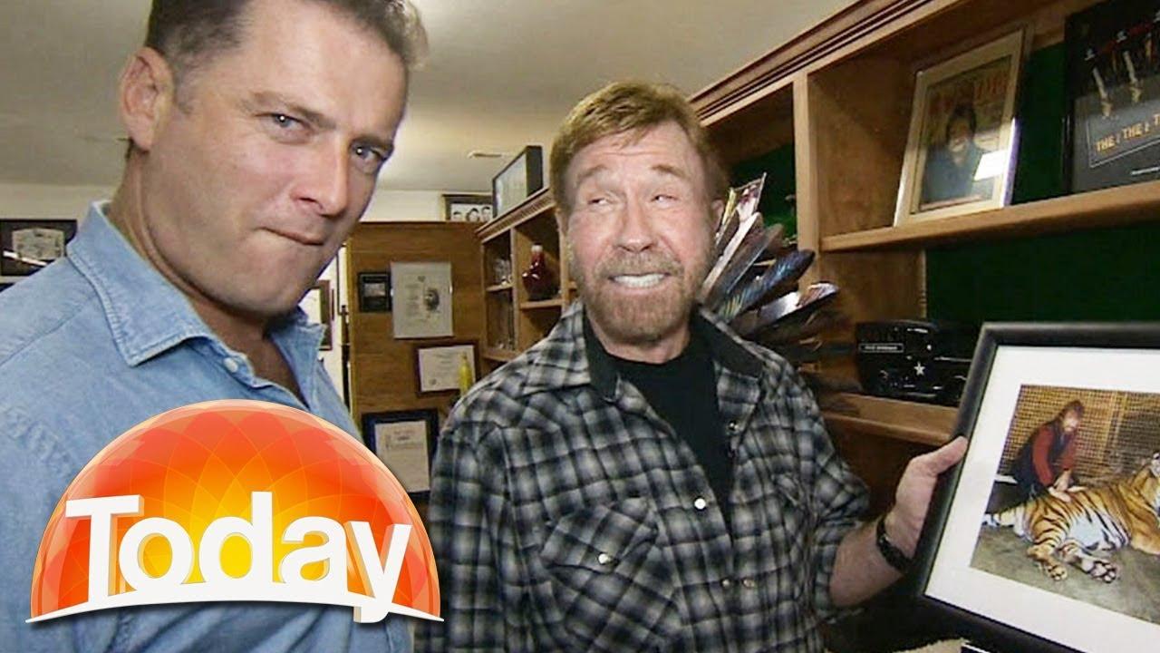 Download Karl meets Chuck Norris