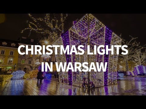 Christmas Lights in Warsaw 2017