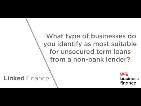 Linked Finance | Interview with GDG Business Finance. Video 4 - what companies are best suited?