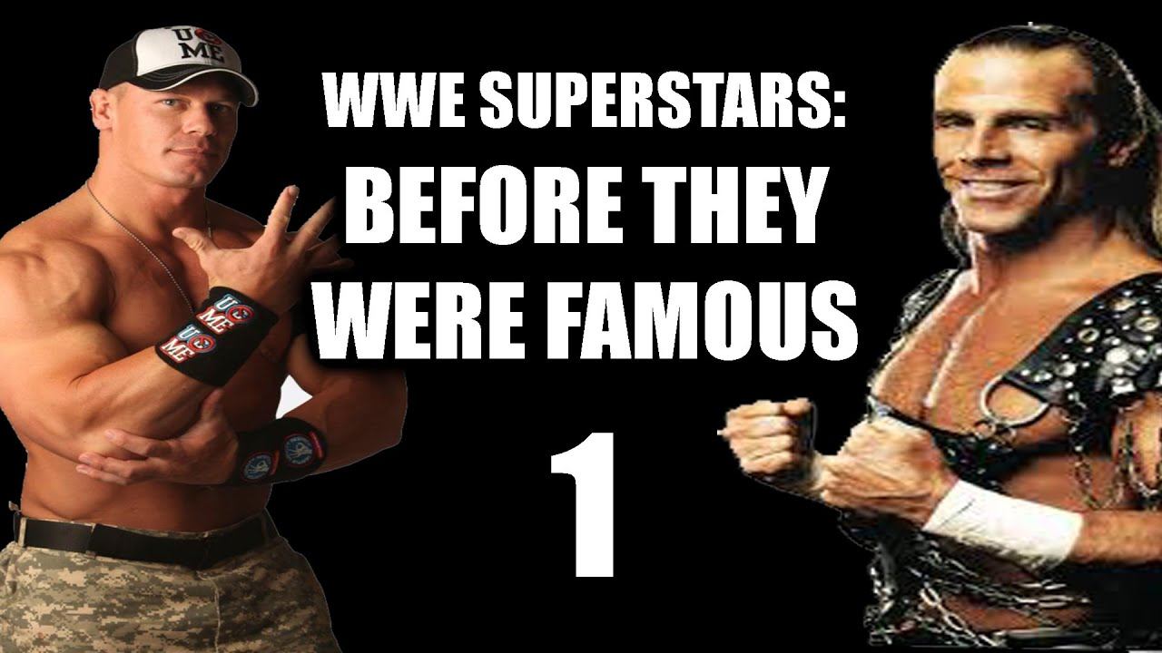 WWE Superstars Before They Were Famous YouTube - Famous wwe wrestlers looked completely different