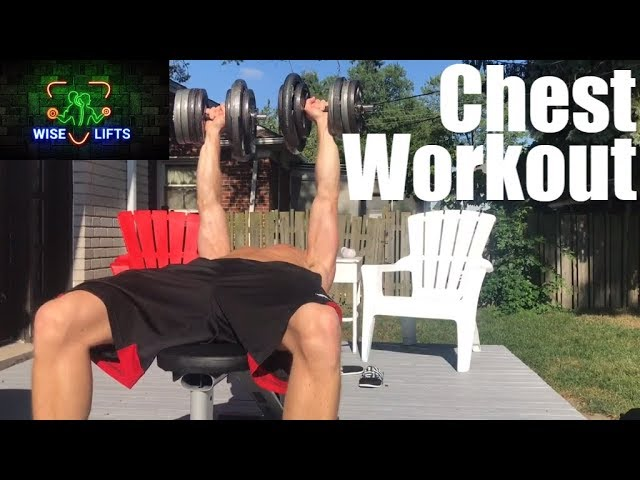 Wise Eats Workout Program: Monday - Chest (Weight Lifting Exercise Routine)