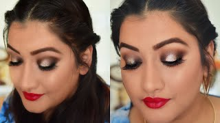 Affordable Party Makeup Tutorial and Hairstyle