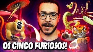 A ORIGEM dos CINCO FURIOSOS! - Kung Fu Panda