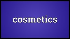 Cosmetics Meaning