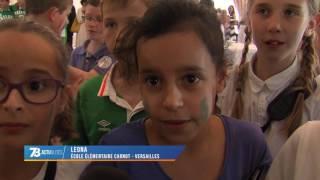Euro 2016 : Les élèves versaillais rencontre l'ambassadrice d'Irlande