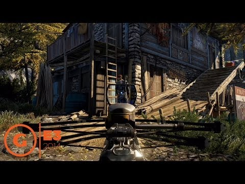 Far Cry 4 Gameplay E3 2014 Sony Press Conference Youtube