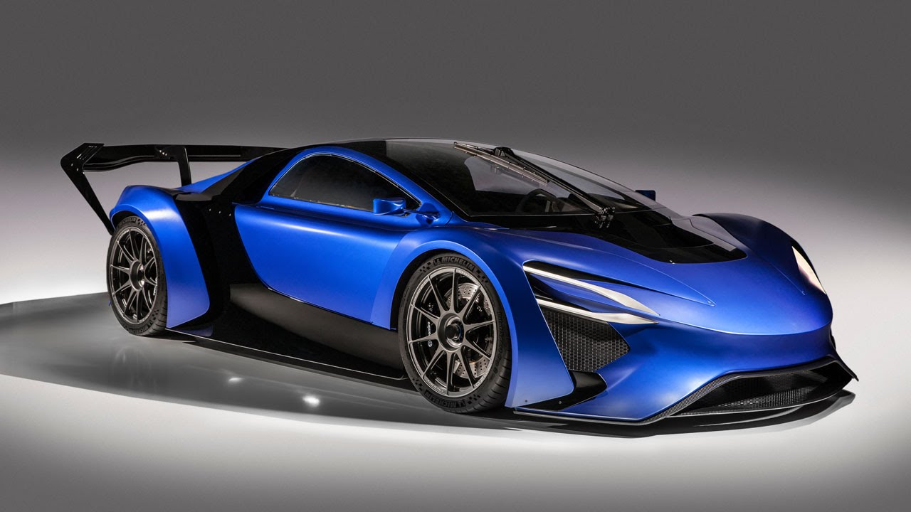 2016 Techrules At96 Trev Supercar Concept: Techrules AT96 TREV Supercar Concept