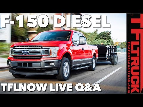 Your 2018 Ford F-150 Diesel Questions Answered! TFLnow Live Show #21