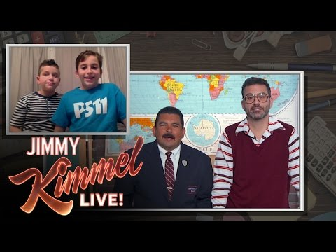 The Homework Helper Guys with Jimmy Kimmel and Guillermo Ep. 4
