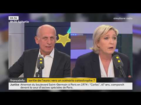 Interview de Marine Le Pen sur franceinfo - le 13/03/2017