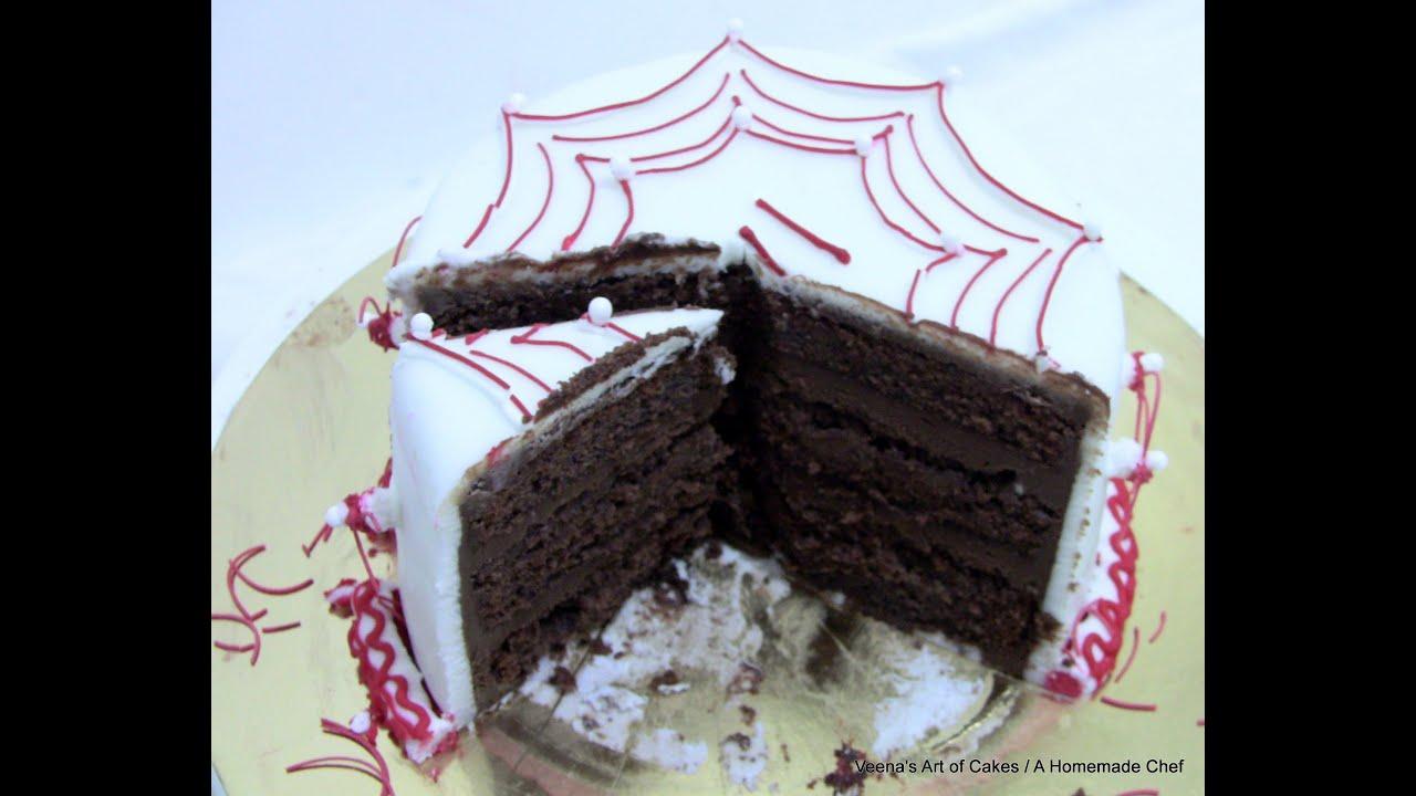 Veena Art Of Cake Fondant Recipe : Chocolate Mousse Cake Filling Recipe - Cake Decorating ...