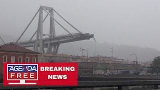 بث مباشر| انهيار جسر في جنوى بإيطاليا