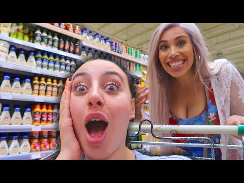 FIRST TIME GROCERY SHOPPING TOGETHER!! (NEVER AGAIN!)