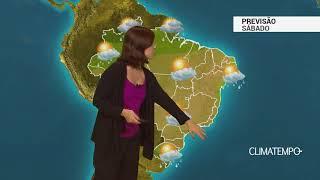 Previsão Brasil – Fim de semana começa quente