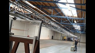 Centre Point Load test with 20m Prolyte Verto Truss span