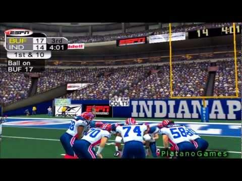 NFL 2012 Week 12 - Buffalo Bills (4-6) vs Indianapolis Colts (6-4) - 2nd Half - NFL 2K5 - HD