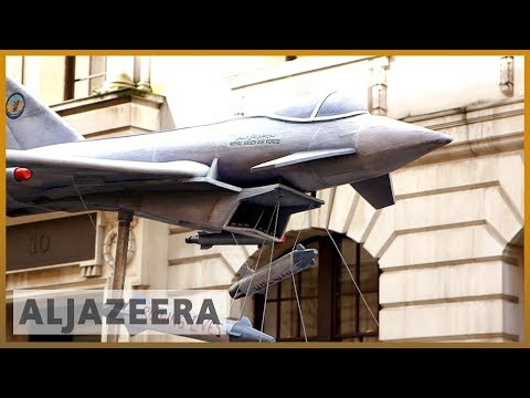 🇬🇧🇸🇦 UK protests over arms sales to Saudi Arabia for Yemen war | Al Jazeera English