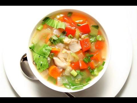 Рецепты овощных супов пошагово