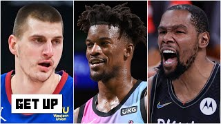 Teams on upset alert in the playoffs, NBA postseason awards and the Nets' wild sequence | Get Up