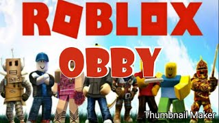 Roblox obby with Rae Tube and voltage