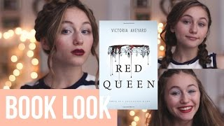 3 Makeup + Hair looks Inspired by Red Queen by Victoria Aveyard
