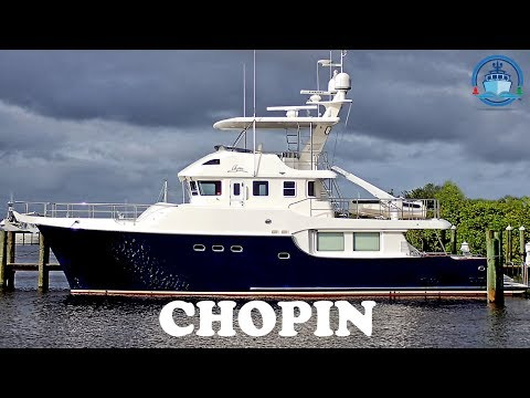 Trawler for Sale – Nordhavn 60 - CHOPIN - Offered by Jeff Merrill Yacht Sales, Inc.